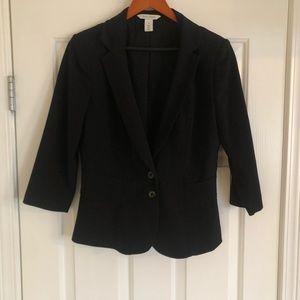 White House Black Market Black Blazer - Size 8